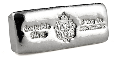 Purchase 5oz Silver Bar in Panama | FORT KOBBE VAULTS